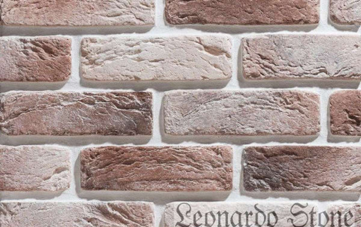 Фасадная плитка Leonardo Stone декоративный кирпич Руан 769