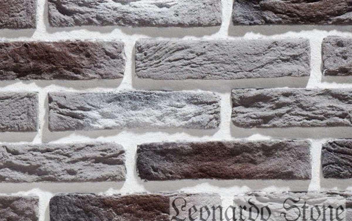Фасадная плитка Leonardo Stone декоративный кирпич Иль-де-Франс 465