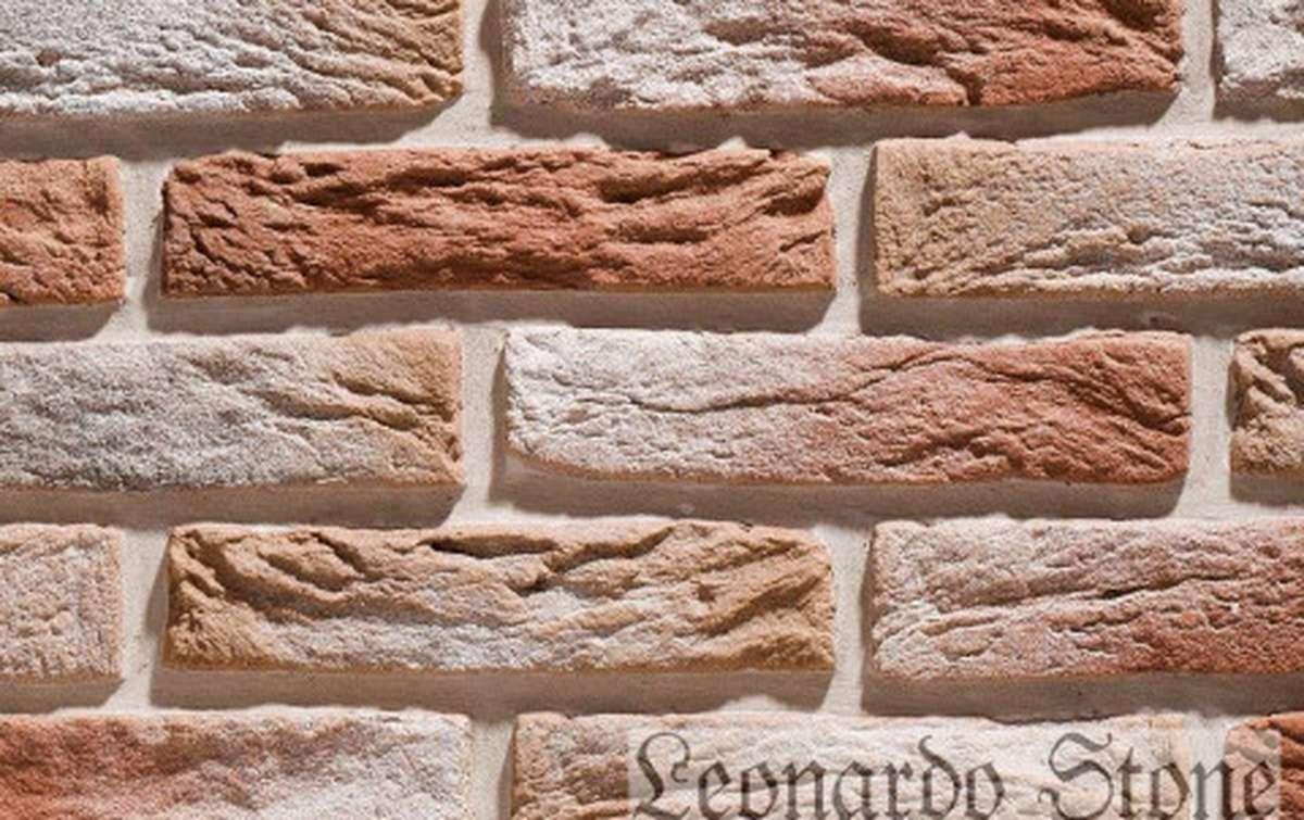Фасадная плитка Leonardo Stone декоративный кирпич Иль-де-Франс 777
