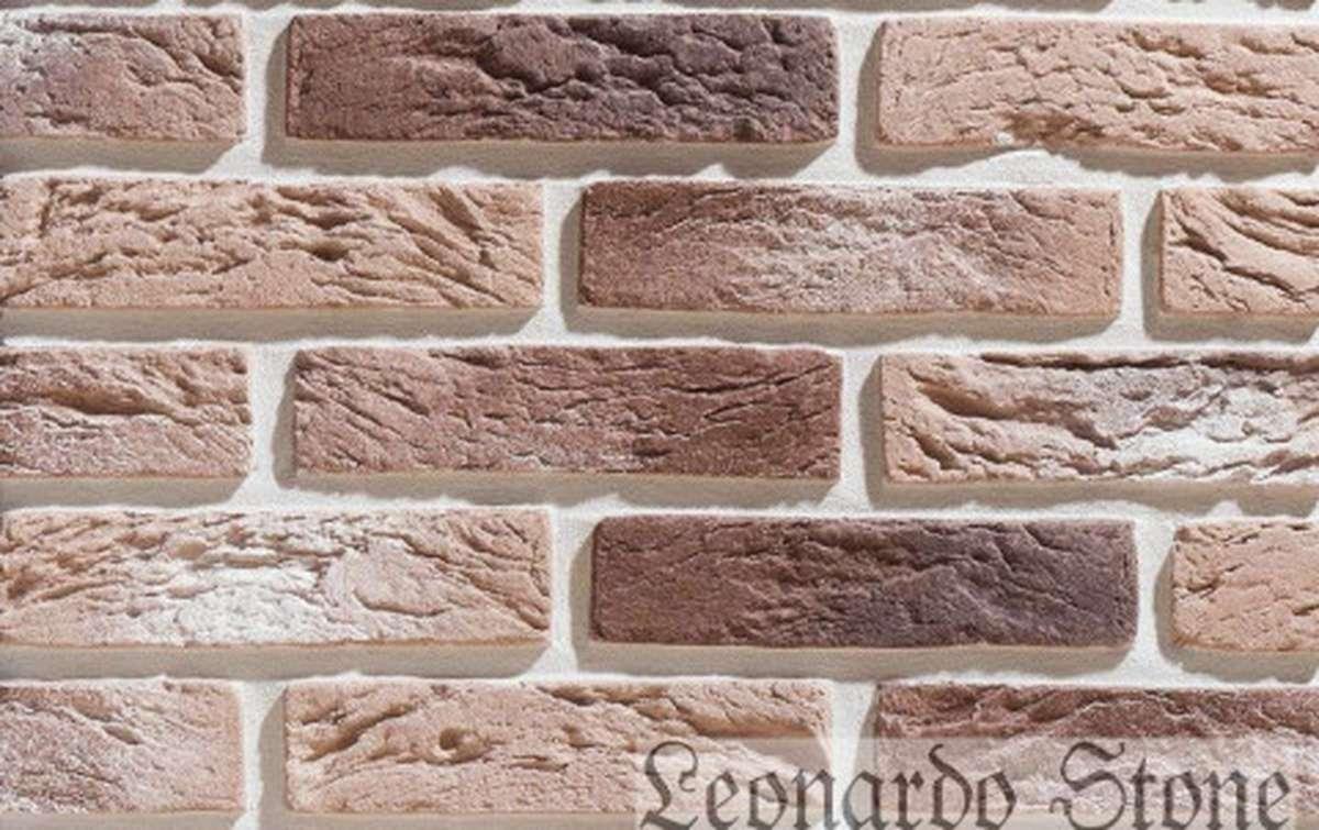 Фасадная плитка Leonardo Stone декоративный кирпич Сен-Жермен 333