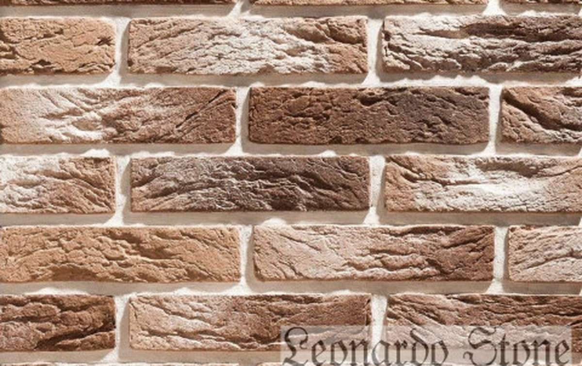 Фасадная плитка Leonardo Stone декоративный кирпич Сен-Жермен 402