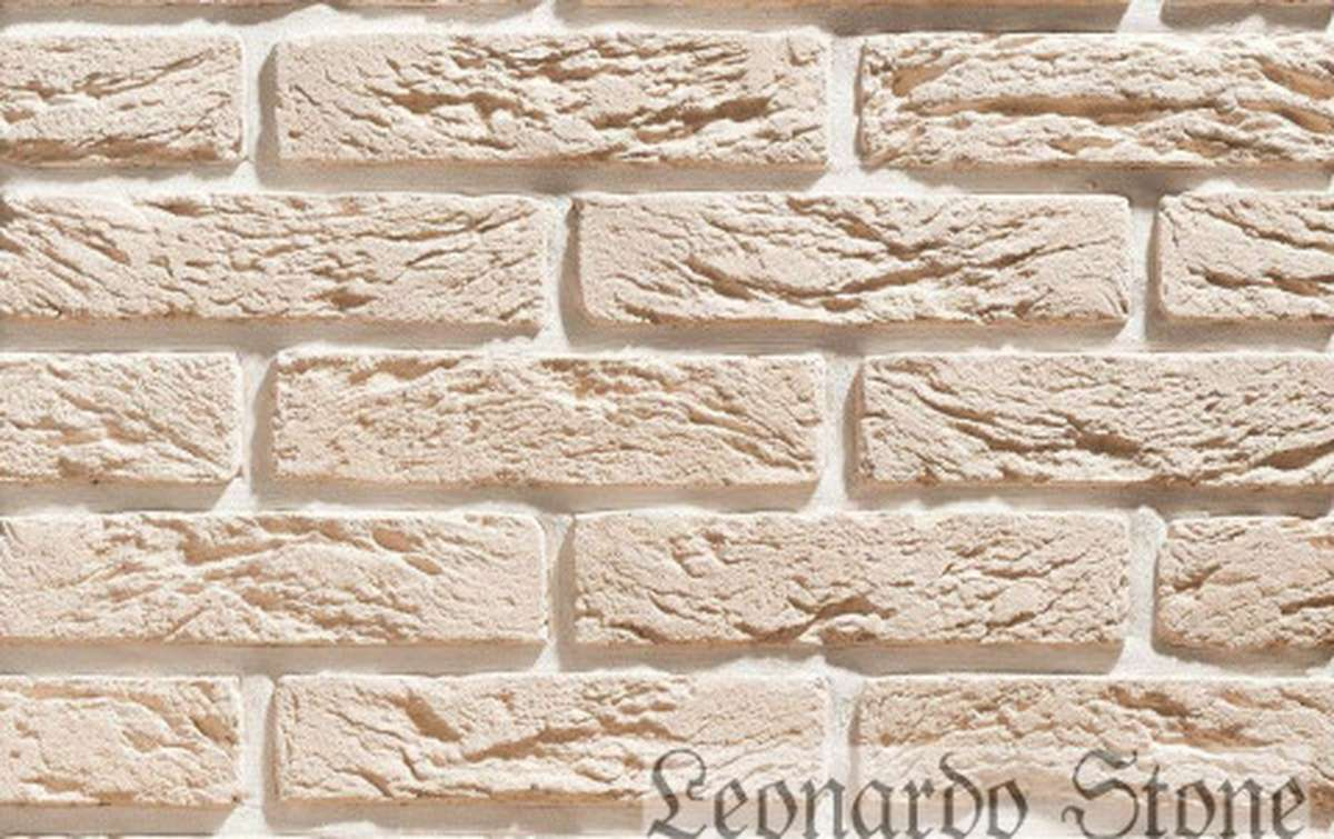 Фасадная плитка Leonardo Stone декоративный кирпич Сен-Жермен 404