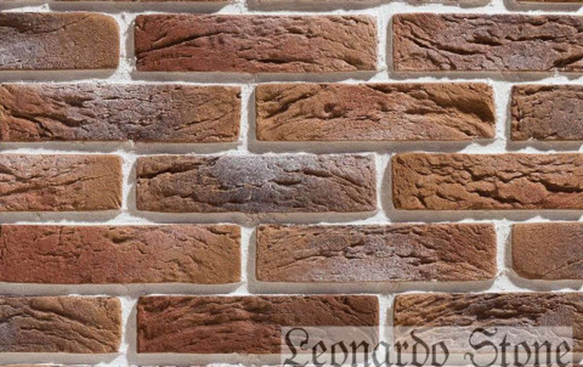Фасадная плитка Leonardo Stone декоративный кирпич Сен-Жермен 777
