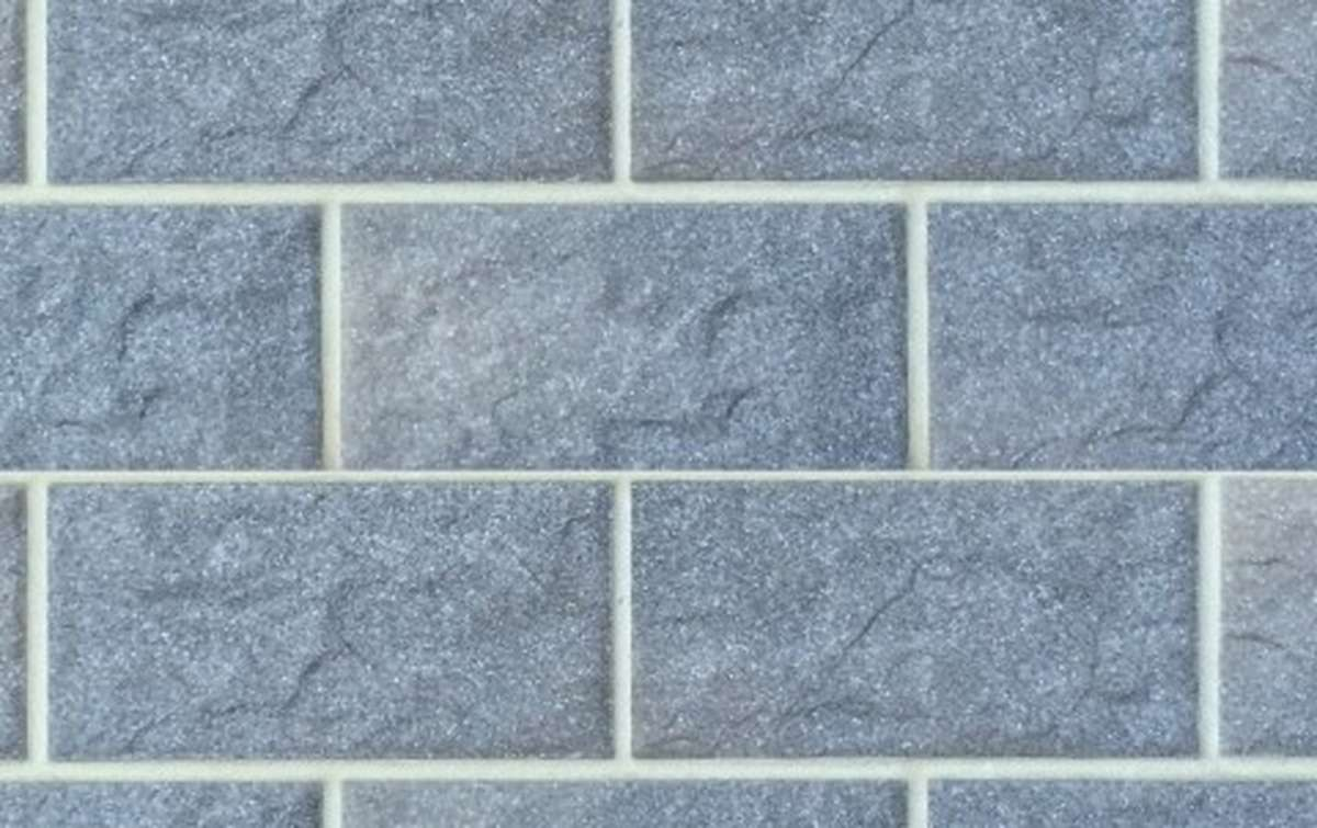 фасадная клинкерная плитка STROEHER grau, размер 302x148x12