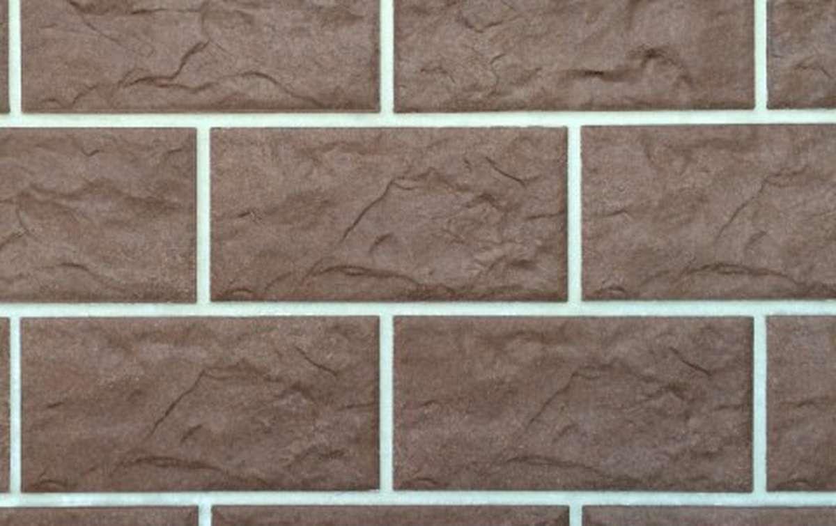 фасадная клинкерная плитка STROEHER tabakbraun, размер 302x148x12