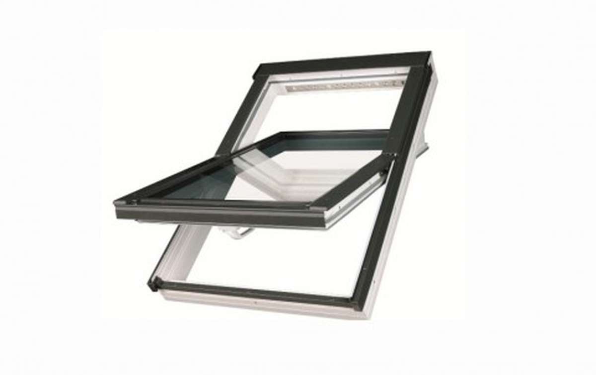 Мансардное окно FAKRO PTP U3 из ПВХ 55x98