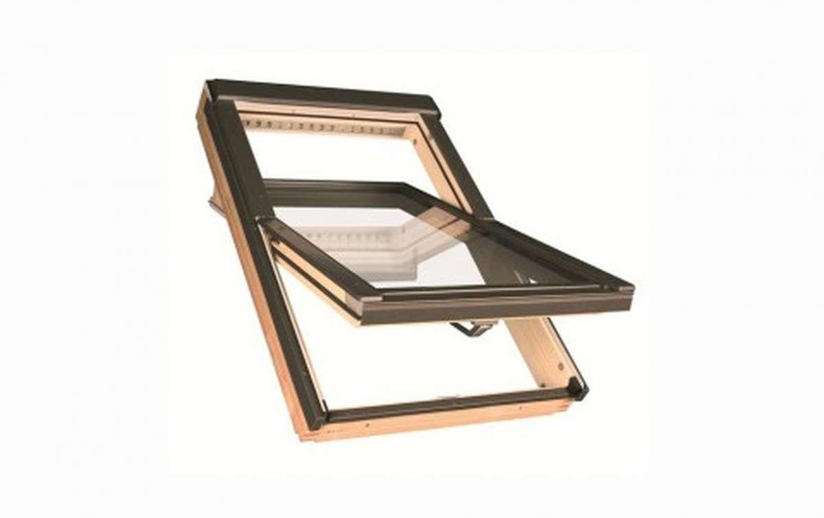 Мансардное двухкамерное окно FAKRO FTP-V U4 78x118