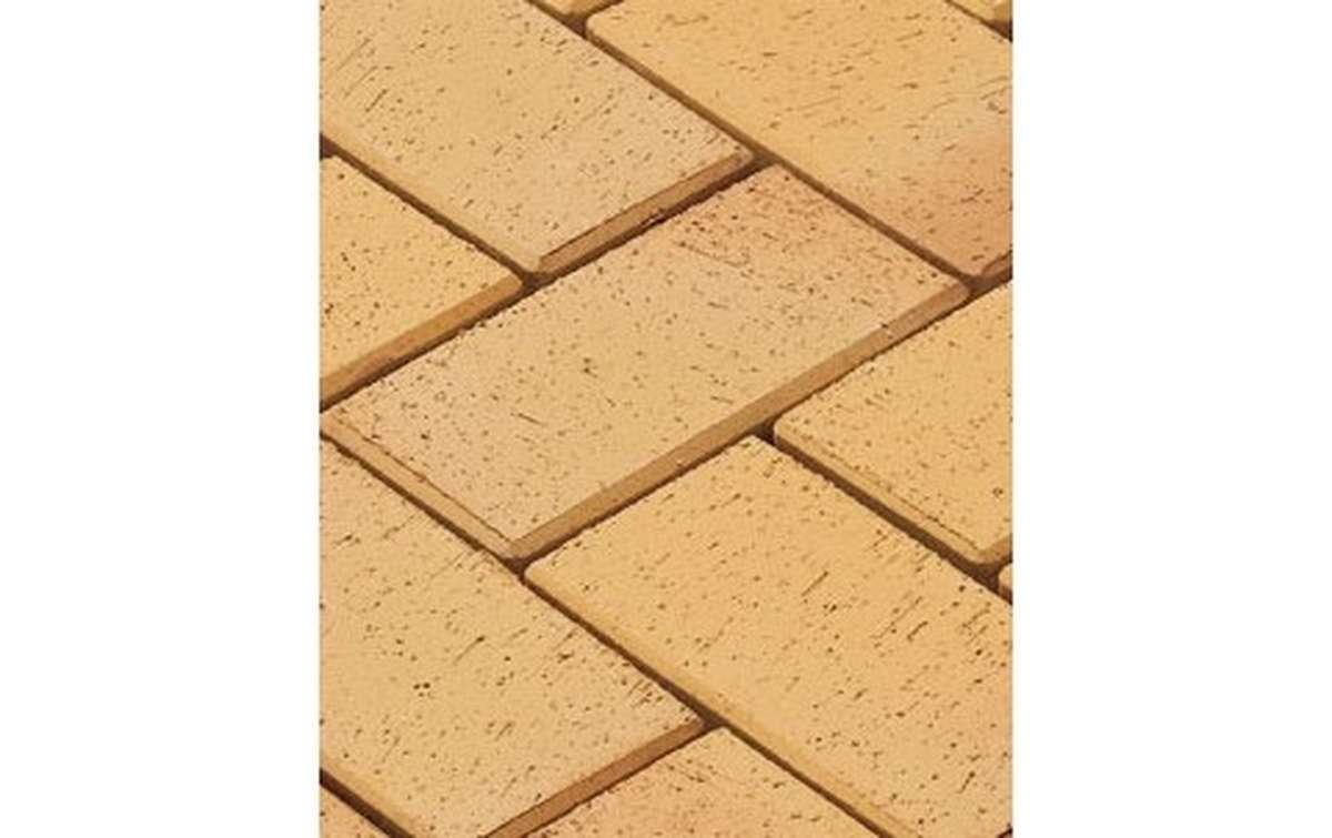тротуарная плитка vandersanden/сrh plauen 200x100x52 ,цвет желто-пестрый