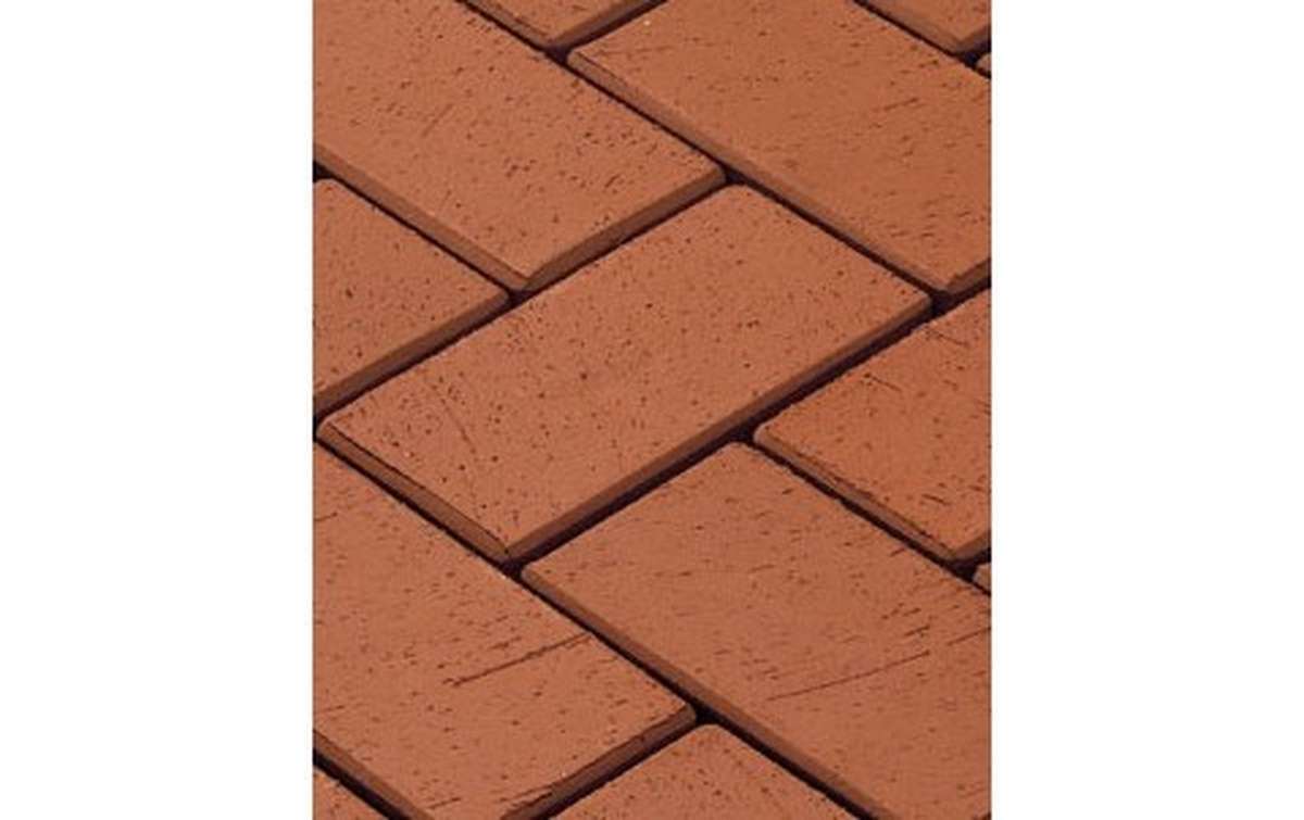 тротуарная плитка vandersanden/сrh gorlitz 200x100x52 ,цвет красный
