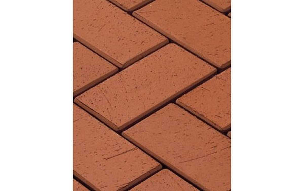 тротуарная плитка vandersanden/сrh gorlitz 240x118x52 ,цвет красный