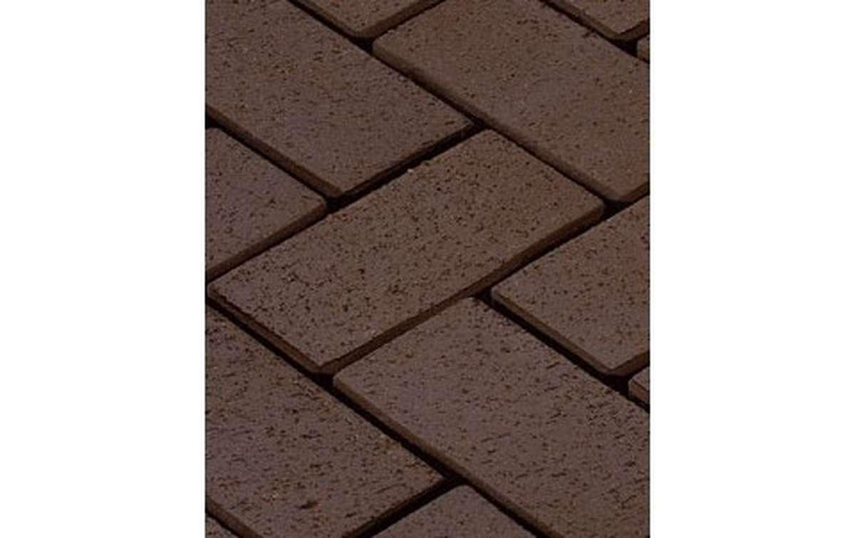 тротуарная плитка vandersanden/сrh wega 200x100x45 ,цвет темно-коричневый