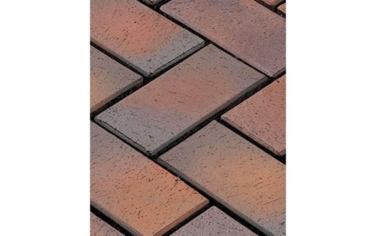 тротуарная плитка vandersanden/сrh meran 200x100x45 ,цвет красно-серый