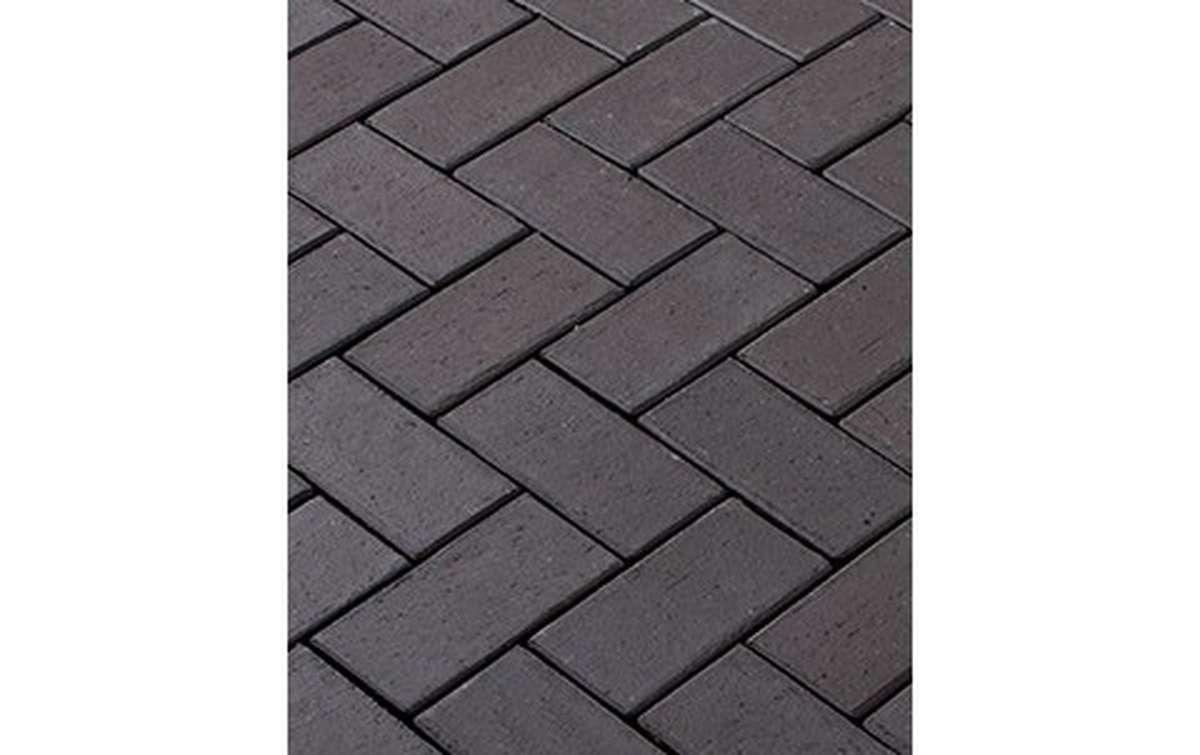 тротуарная плитка vandersanden/сrh milano 200x100x52 ,цвет серо-коричневый