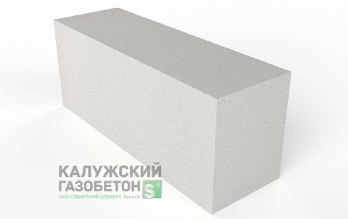 Блок стеновой теплоизоляционно-конструкционный Калужский газобетон D500 625x200x250