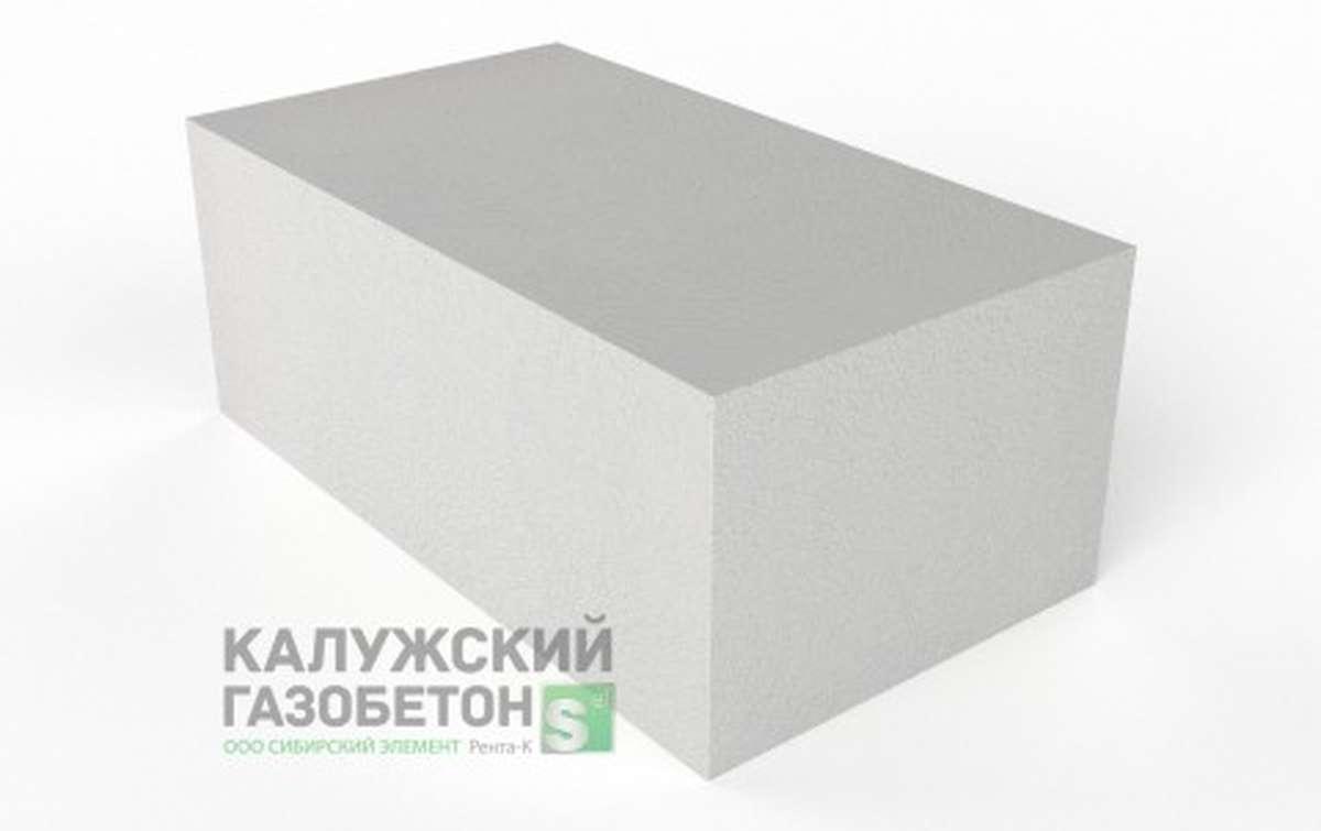 Блок стеновой теплоизоляционно-конструкционный Калужский газобетон D500 625x350x250