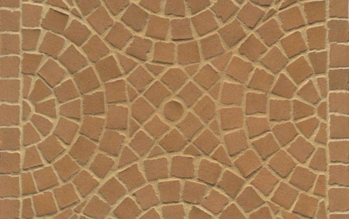 Тротуарная клинкерная плитка Фельдхаус Клинкер M203DF areno trigo 240x118