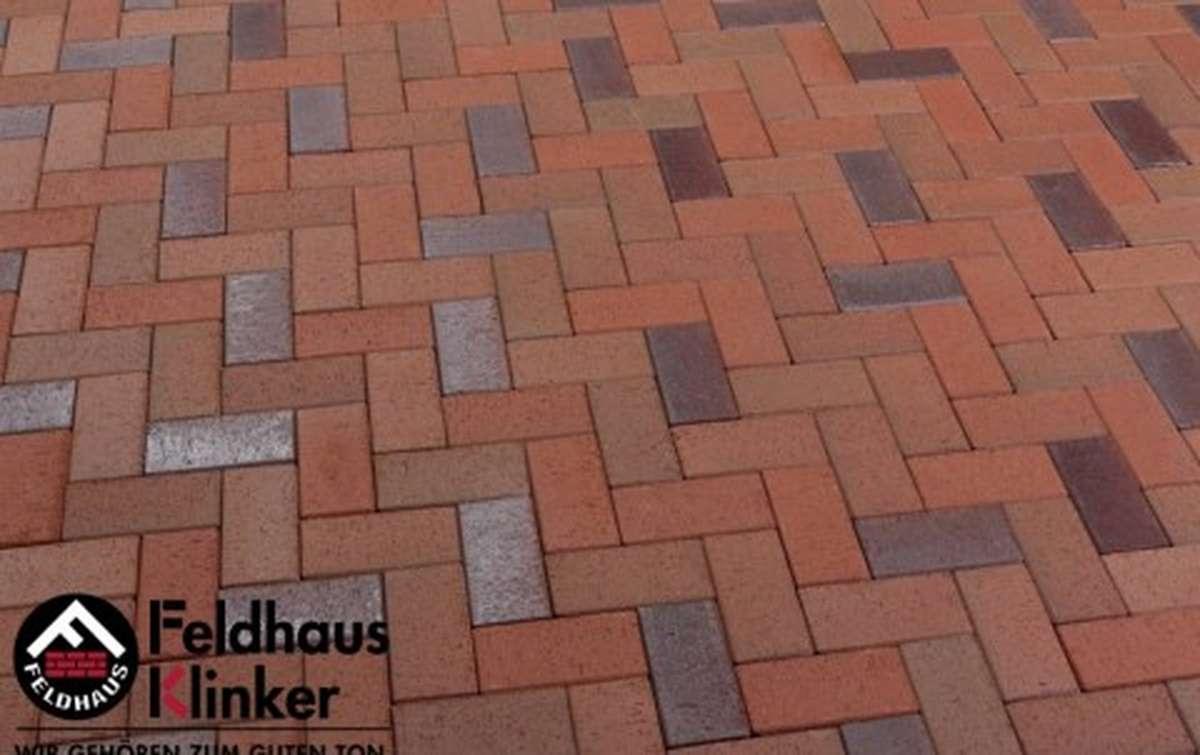 Тротуарная клинкерная плитка Фельдхаус Клинкер P405SKF gala alea 200x100