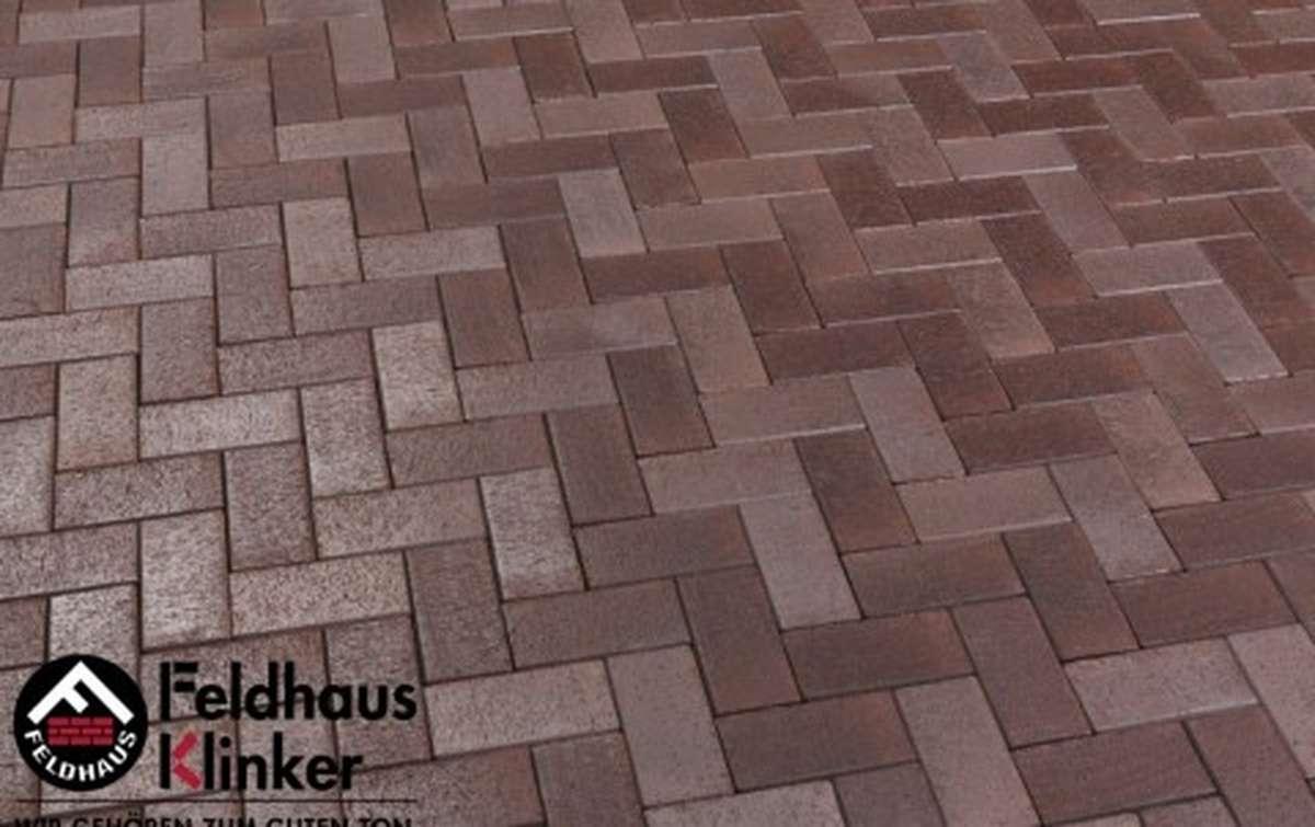 Тротуарная клинкерная плитка Фельдхаус Клинкер P409KF gala ferrum 200x100