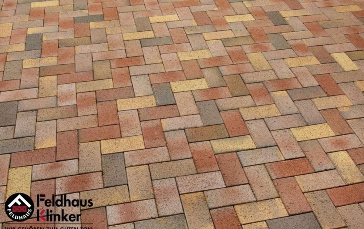 Тротуарная клинкерная плитка Фельдхаус Клинкер P415KF 200x100