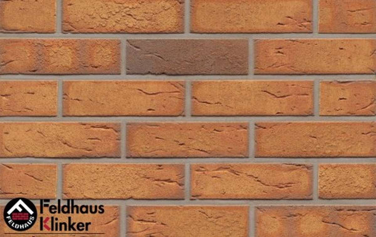 клинкерная плитка для фасада feldhaus klinker nolani viva rustico r268nf9 240x9x71