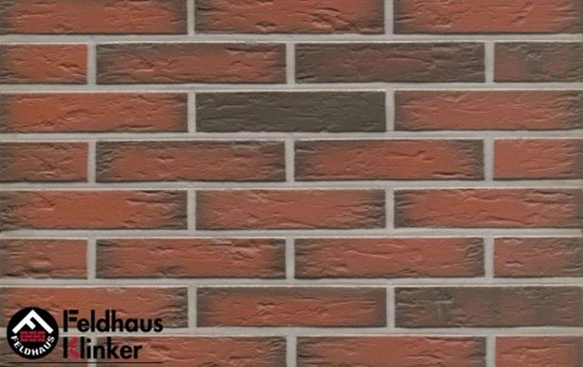 клинкерная плитка для фасада feldhaus klinker r343df9 ardor senso 240x9x52