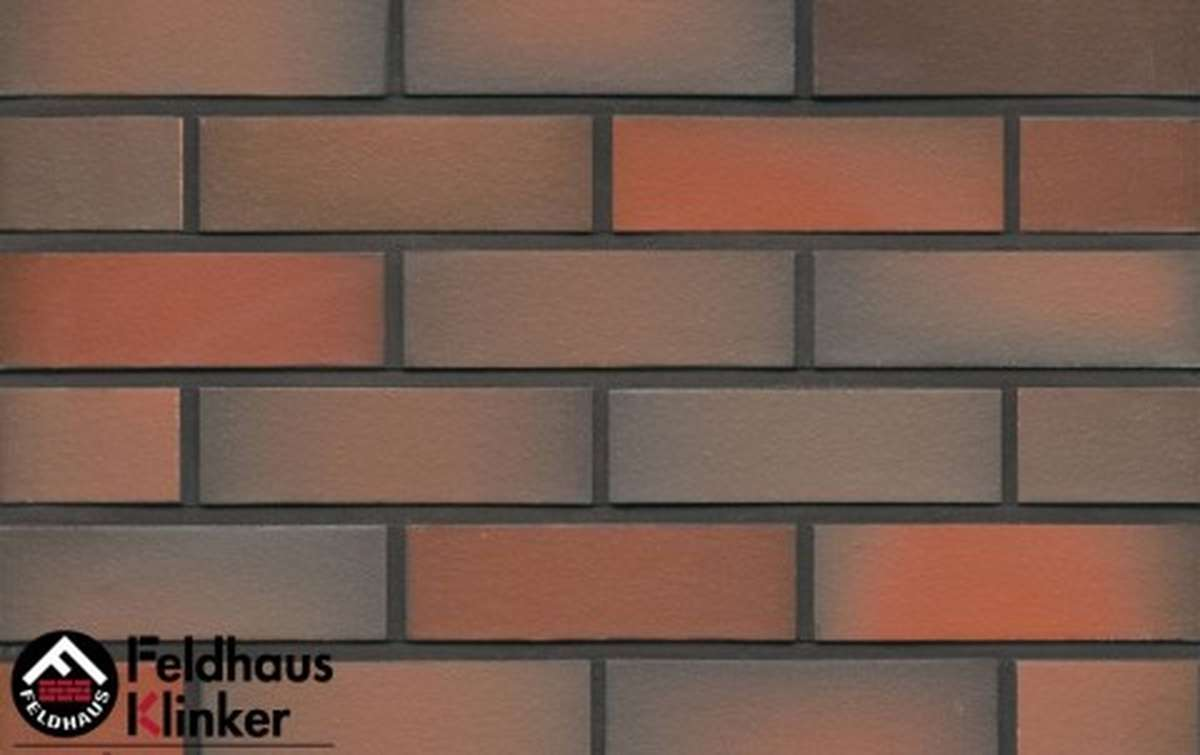 клинкерная плитка для фасада feldhaus klinker galena terreno viva r484nf14 240x14x71