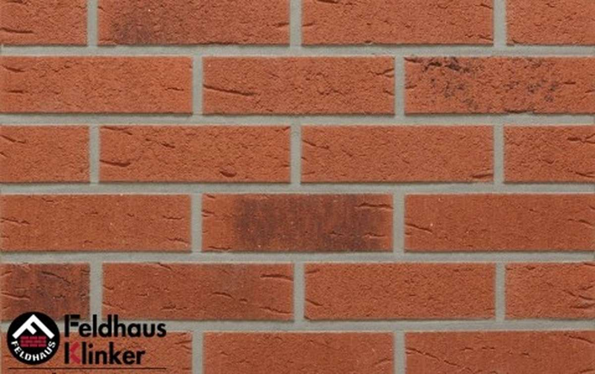 клинкерная плитка для фасада feldhaus klinker terreno rustico carbo r488nf9 240x9x71