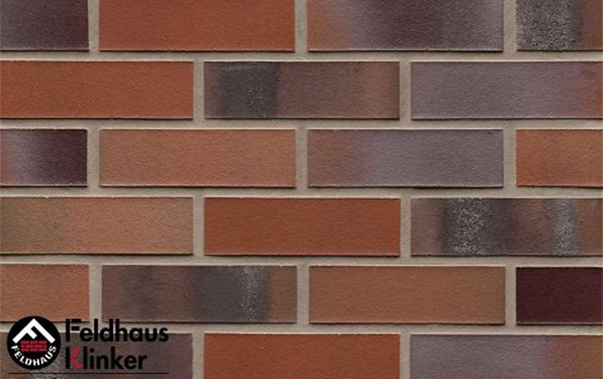 клинкерная плитка для фасада feldhaus klinker carbona carmesi colori r560nf14 240x14x71
