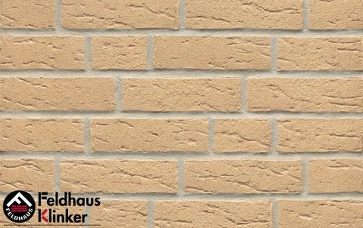 фасадная плитка feldhaus klinker sintra crema r692nf14, 240x14x71