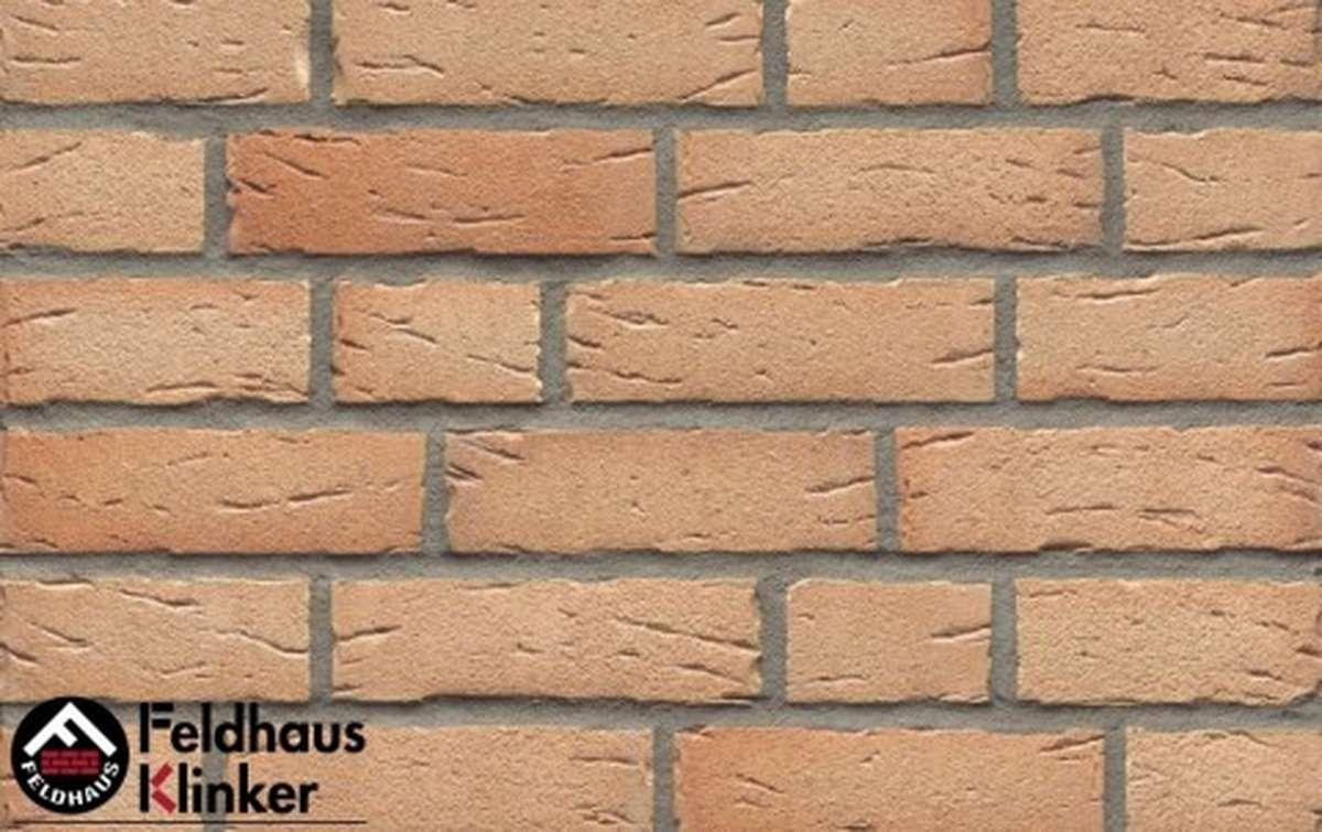 фасадная плитка feldhaus klinker sintra crema duna r696nf14, 240x14x71