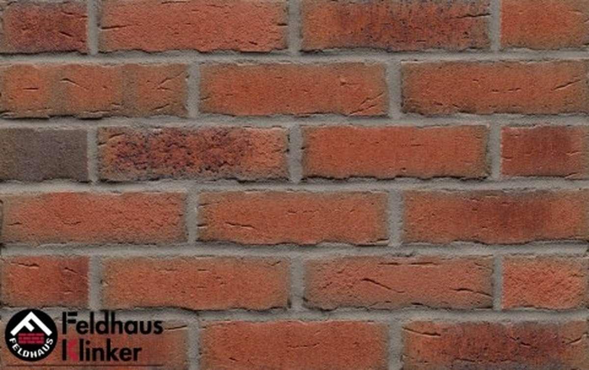 фасадная плитка feldhaus klinker sintra terracotta bario r698nf14, 240x14x71