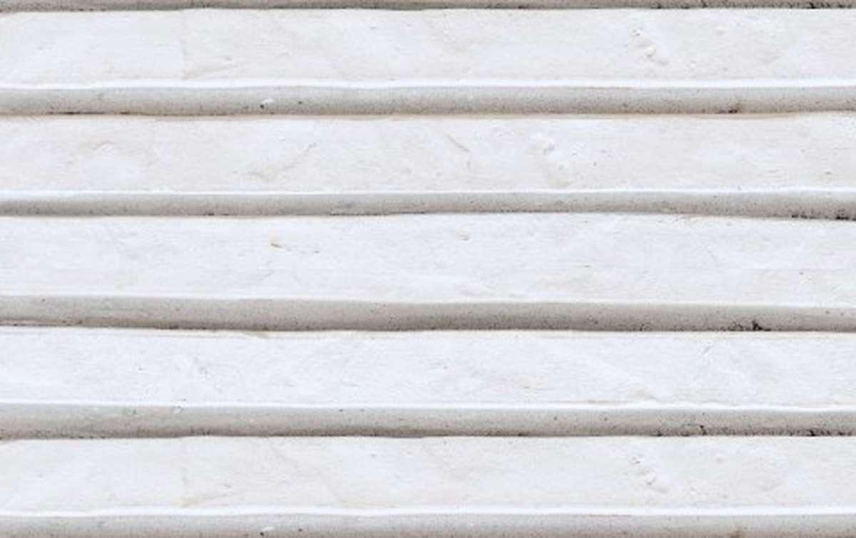 фасадная плитка ригельформат БКЗ, Ладога, белый, 257x100x38