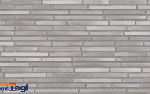 Кирпич ригель формата Randers Tegl темно-серый 468x108x38