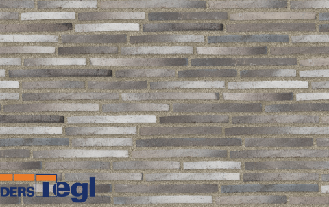 Кирпич ригель формата Randers Tegl многоцветный 468x108x38