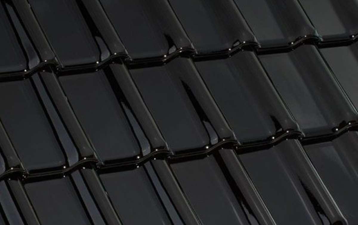 керамическая черепица laumans серия tiefa xl top, черный
