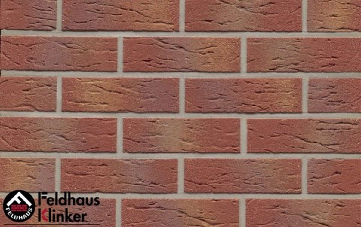Термопанели Регент с клинкерной плиткой Feldhaus Klinker carmesi multi mana R332NF9, 750x656x20