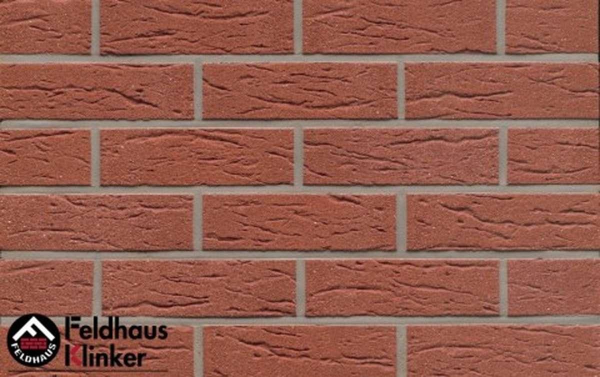 Термопанели Регент с клинкерной плиткой Feldhaus Klinker carmesi mana R435NF9, 750x656x20