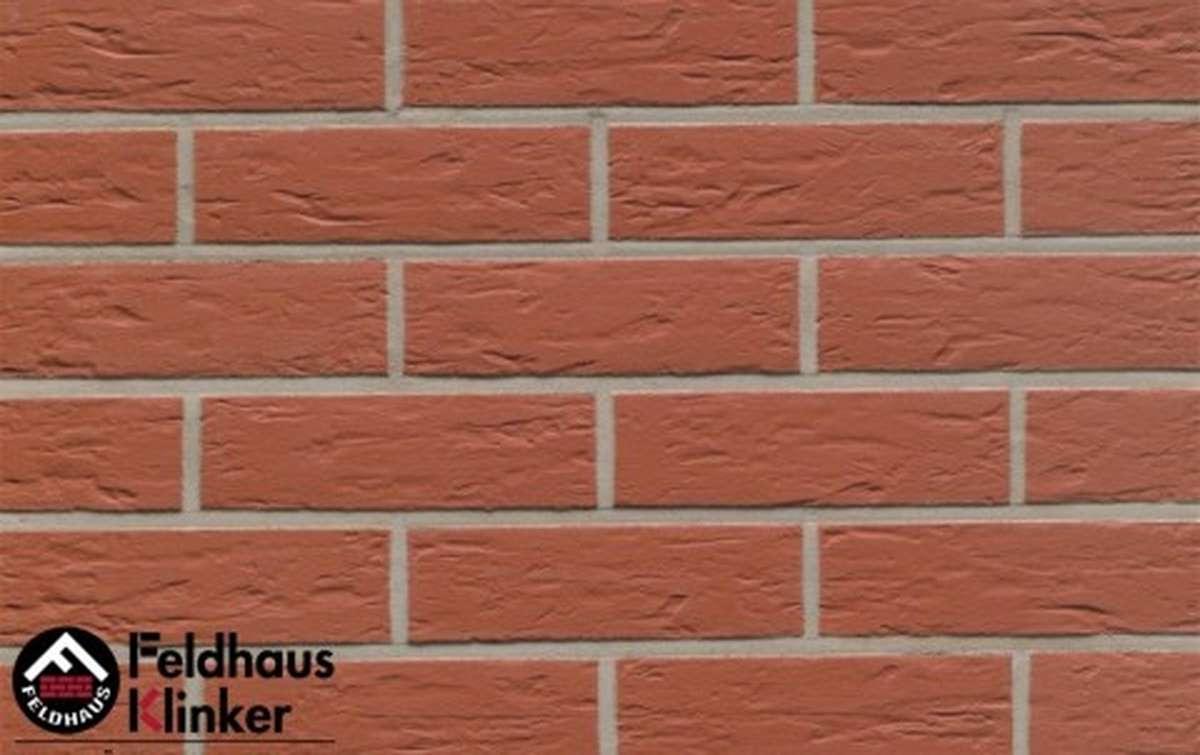 Термопанели Регент с клинкерной плиткой Feldhaus Klinker carmesi senso R440NF9, 750x656x20