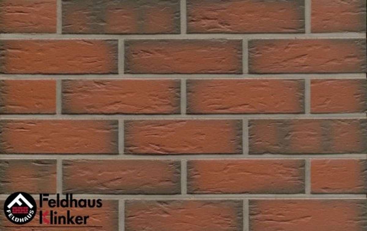 Термопанели Регент с клинкерной плиткой Feldhaus Klinker ardor senso R343NF9, 750x656x40