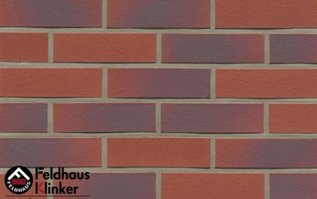 Термопанели Регент с клинкерной плиткой Feldhaus Klinker carmesi antic liso R356NF9, 750x656x40