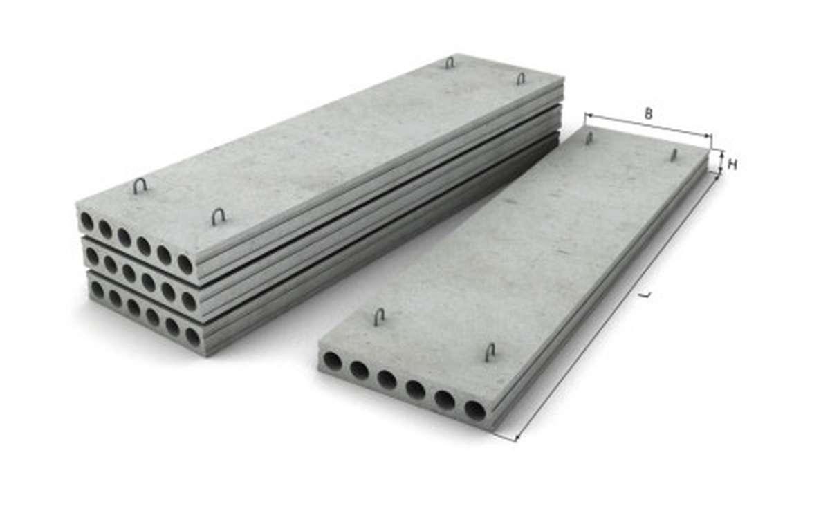 ПК 16-12-8, плиты перекрытий многопустотные по серии сер. 1.141-1 в.63,60 переработ. шифр 93-1336.3